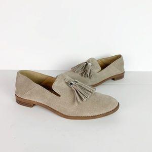 Franco Sarto | Suede loafers tassel detail 7.5